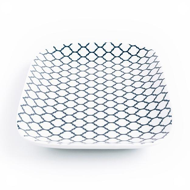Decorative Pattern Tray | Quatrefoil