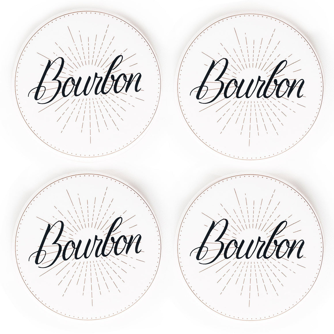 Spirits Coasters - Bourbon
