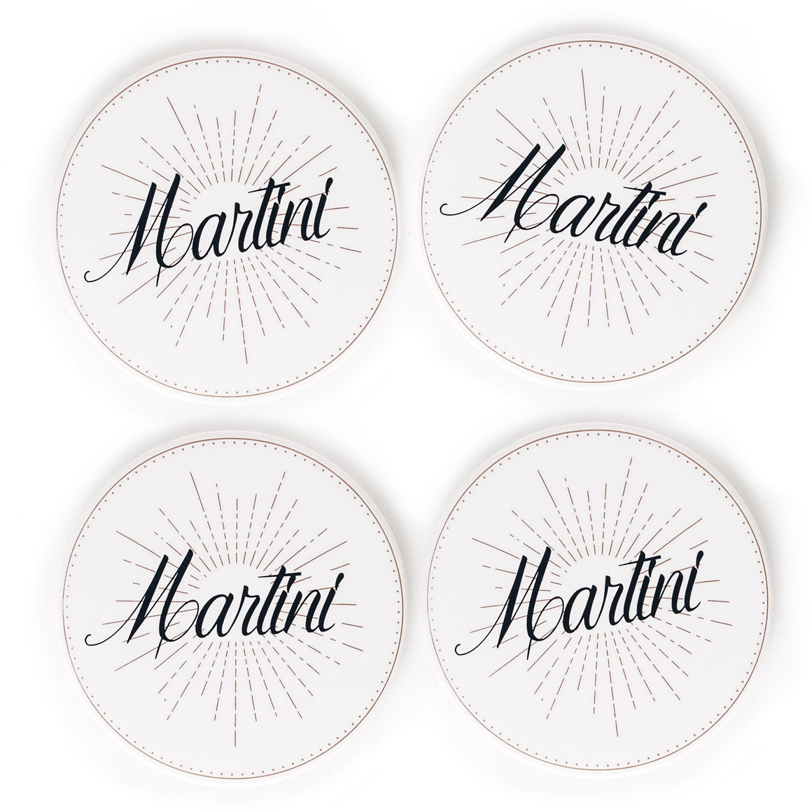 Spirits Coasters - Martini