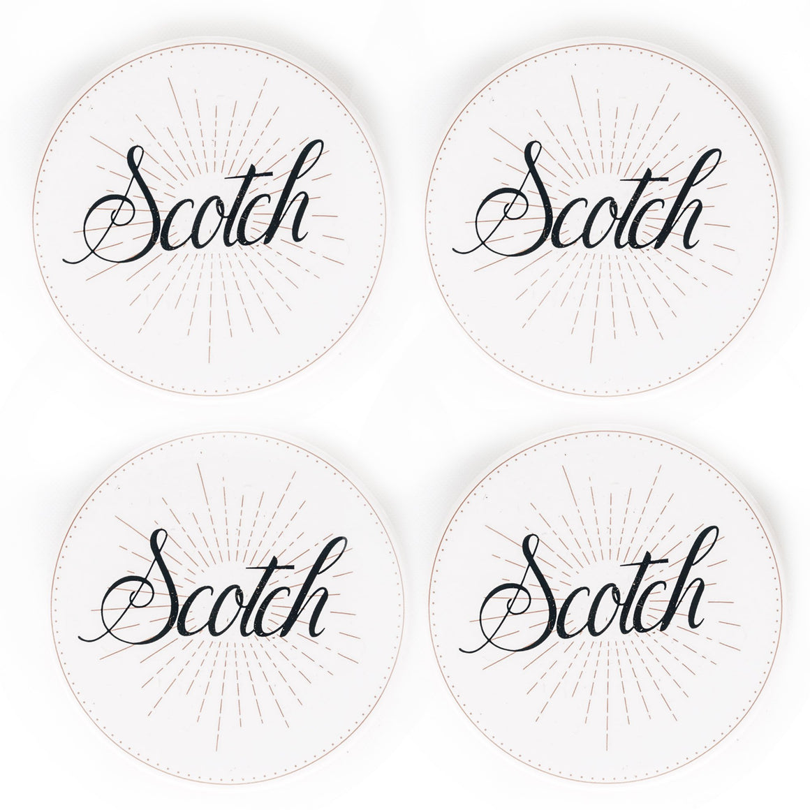 Spirits Coasters - Scotch