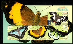 Australia: Beautiful Butterflies Miniature Sheet