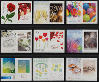 Australia: Special Occasions 2014 Set of Personalised Stamps
