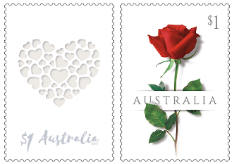 Australia: Love 2017 Set of Self-adhesive Stamps
