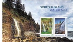 Norfolk Island: Waterfalls 2017 Miniature Sheet