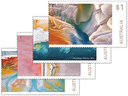 Australia: Art in Nature 2018 Set of Self-adhesive Stamps