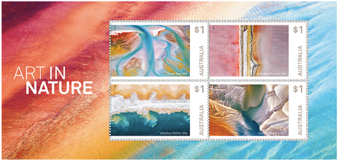 Australia: Art in Nature 2018 Miniature Sheet