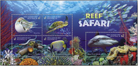 Australia: Reef Safari 2018 Miniature Sheet