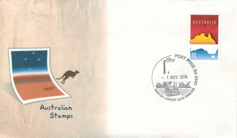 Australia: Port Pirie Lead Smelter Permanent Pictorial Postmark