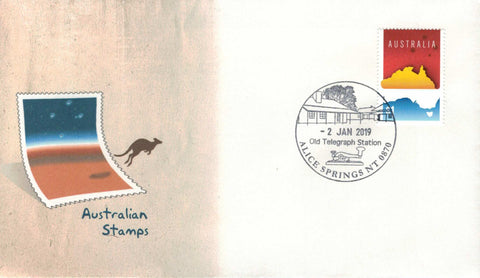 Australia: Alice Springs Old Telegraph Station Permanent Pictorial Postmark