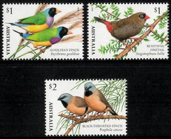 Australia: Finches of Australia 2 Set of Gummed Stamps