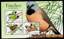 Australia: Finches of Australia 2 Miniature Sheet