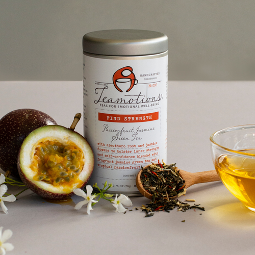 Find Strength :: Passionfruit Jasmine Green
