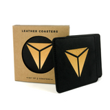 Secretlab Leather Coasters (Set of 2)