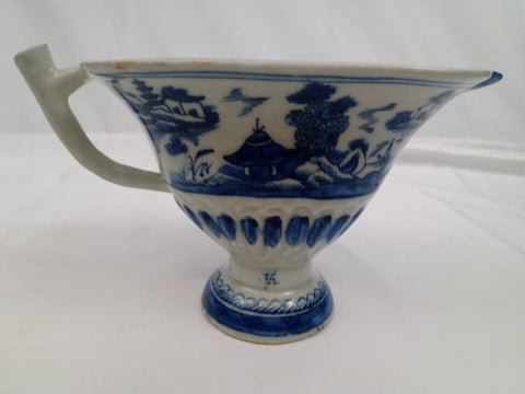 19th Century Chinese Canton Porcelain Large Creamer Jug.