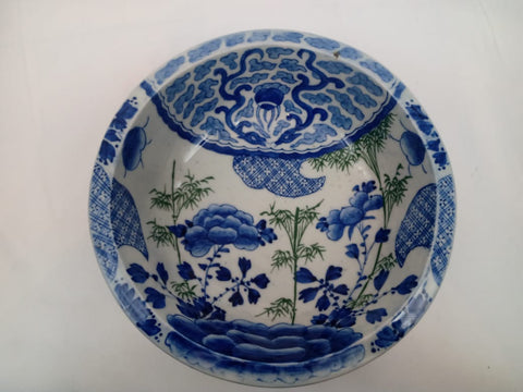 Japanese Imari Blue and White Porcelain Bowl