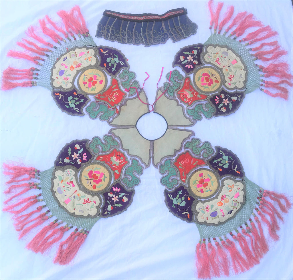 Chinese embroidery collar. Republic Period