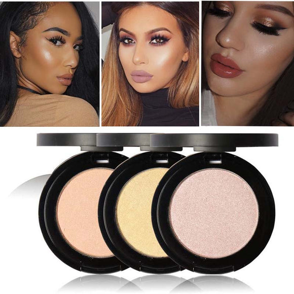 Makeup,Focallure Bronze Makeup Powder Shimmer Brightener - Snapup247