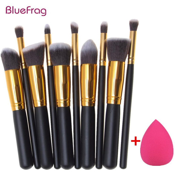 Makeup Brushes,10pcs Makeup Brushes Foundation Kit thats for Face and Eyes - Snapup247