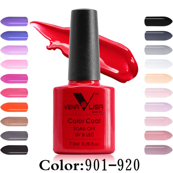 Nail Polish,Venalisa CANNI 60 Color 7.5Ml Soak Off Enamel Gel Polish - Snapup247