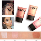 Makeup,FOCALLURE Hot Brown Pink White Shimmer Face Bronzers Makeup - Snapup247