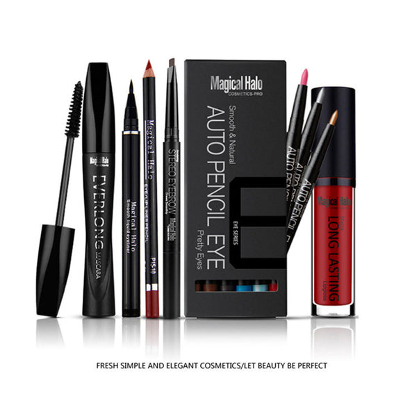 Makeup,Professional MagicalHalo 6 Pcs Eye Makeup Set - Snapup247