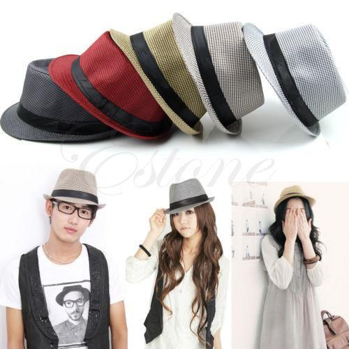 Hats,Spring Summer 2 Colors Fedoras Solid Straw Hat for Women - Snapup247