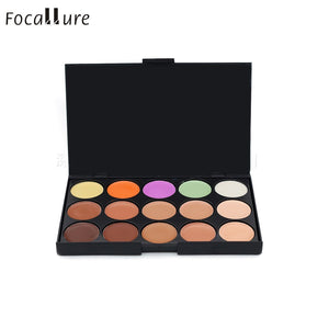 Makeup,Pro 15 Color Neutral Warm Eyeshadow Concealer Palette - Snapup247