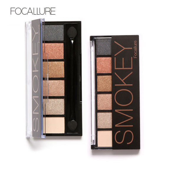 Makeup,Professional Eyes Makeup Glamorous Smokey 6 Colors - Snapup247