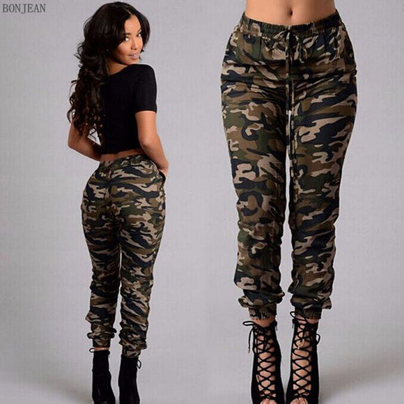 Shorts,2017 Camouflage Women Jeans Workout Trousers plus size Woman Personality Trends Camouflage Trousers For Women - Snapup247