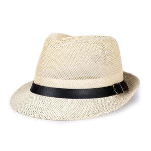 Hats,[AETRENDS] 2017 Summer Panama Hats for Men Hollow Out Breathable Jazz Caps Men's Beach Fedoras Z-5368 - Snapup247