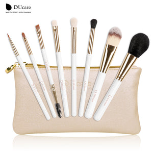 Makeup Brushes,8pcs brush set with Nature bristle brushes - Snapup247