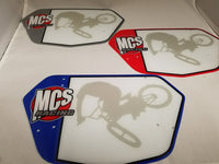 MCS NUMBER PLATE