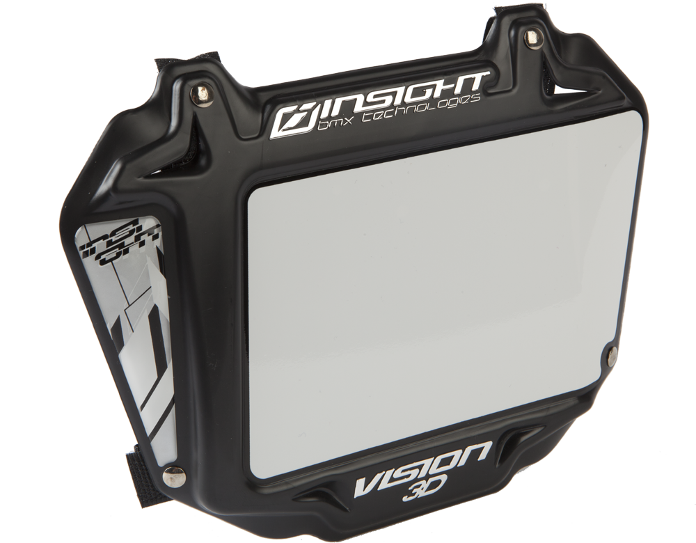 INSIGHT VISION 3D NUMBER PLATE