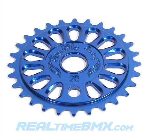 Blue BMX Sprocket Alloy USA Made by PROFILE Imperial 33T