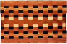 Checkered End Grain Cutting board 18-3/4x12-1/4x1-1/4 in