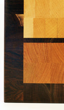 End grain cutting board - Up & Down - Artist Series 1 - 15-1/2x12x1-1/4 in.