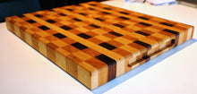 Checkered End Grain Cutting board 18x15x1.5 in