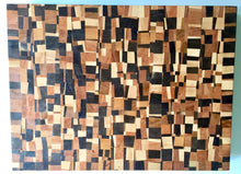 End grain cutting board - Loco 2- Artist Series 1 - 16x20x1-1/2 in.