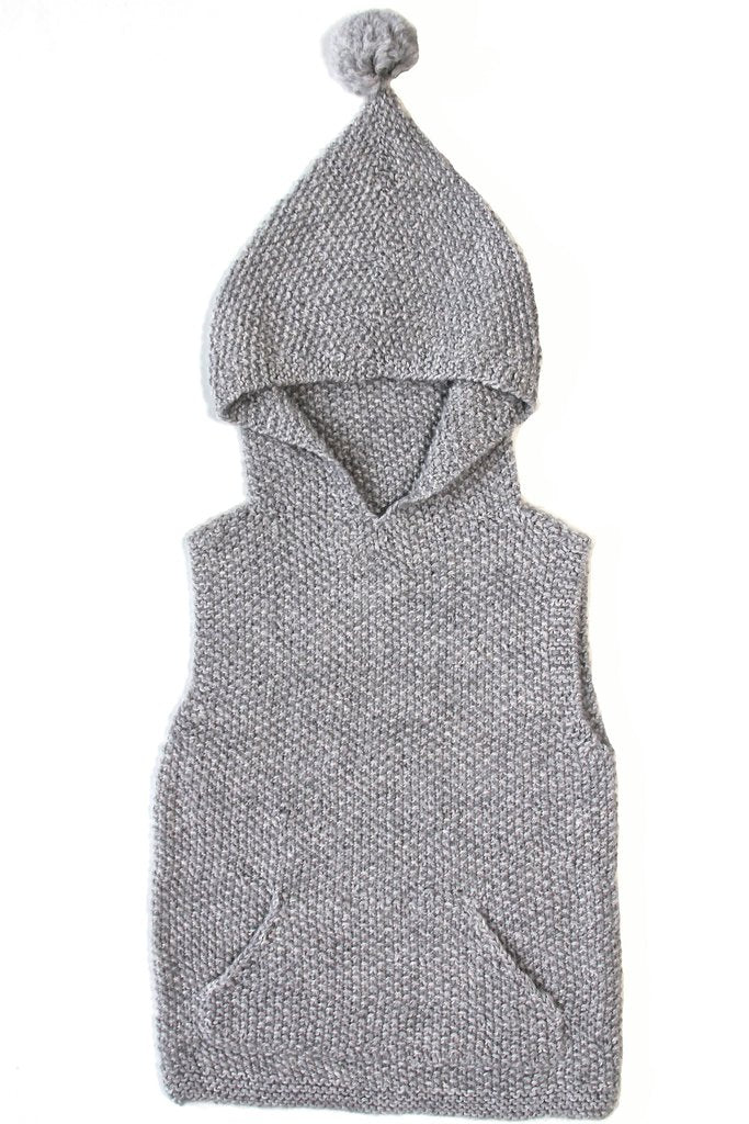 Miou Kids Alpaca Wool Sleeveless Sweater