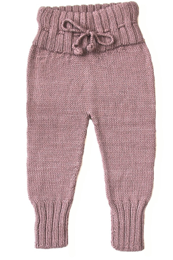 Miou Kids Alpaca Wool Lilac Pants