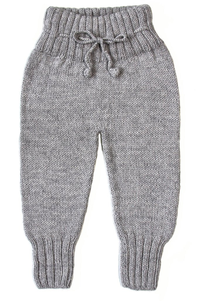 Miou Kids Alpaca Wool Cloud Grey Pants