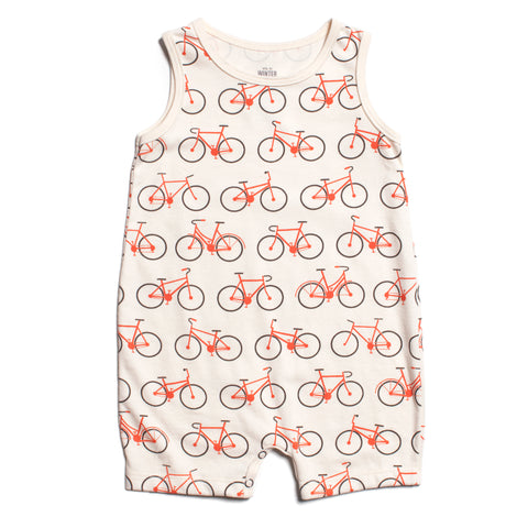 Organic Bicycles Tank Romper