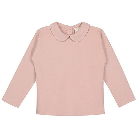 Gray Label Organic Vintage Pink Collar Long Sleeve
