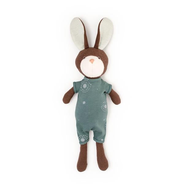 Hazel Village Lucas Rabbit in Adventure Romper