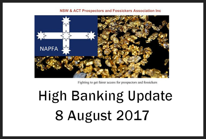 NAPFA Highbanking Update