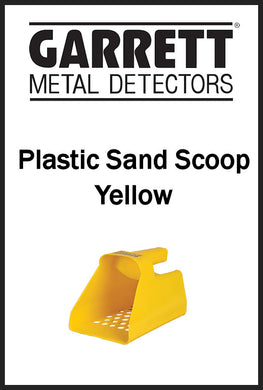 Garrett Plastic Sand Scoop (yellow)