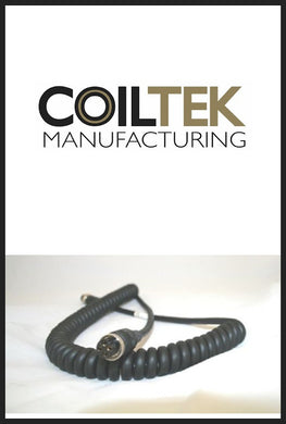 Coiltek 4 Pin Curly Cable - SD / GP Models