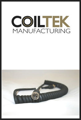 Coiltek 5 Pin Heavy Duty Curly Cable - GPX Models