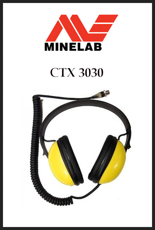 Koss Minelab CTX3030 Waterproof Headphones