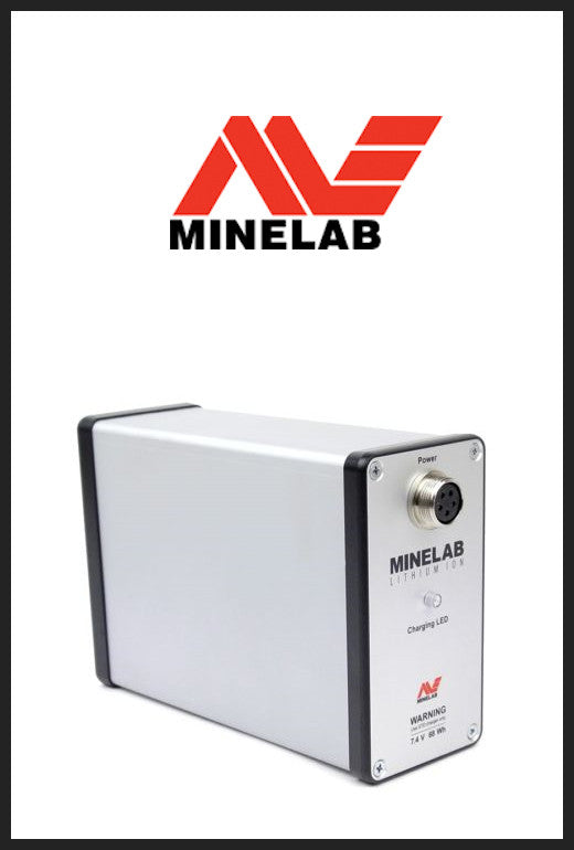 Minelab -Lithium Ion GPX Battery Pack